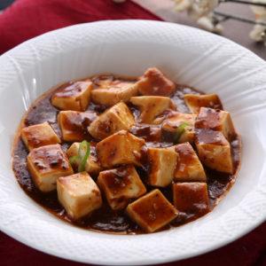 当店人気NO1の豆腐料理!麻婆豆腐